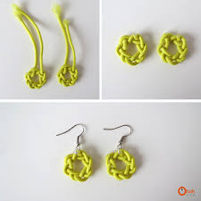 earrings diy diy knot earrings ohoh