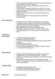 Resume Computer Skills Examples by Curriculum Vitae English Example Language Skills