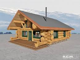 Rocky Mountain Log Homes Floor Plans Home R C M Cad Design Drafting