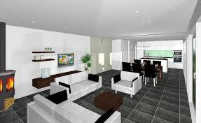 Wohnzimmer Und Esszimmer Farblich Trennen Funvit Com Küche Modern Weiß Braun