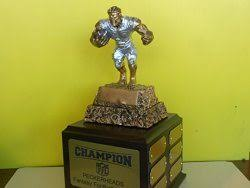 Fantasy Football Armchair Quarterback Trophy 5 Best Perpetual Fantasy Football Trophies Funattic Com