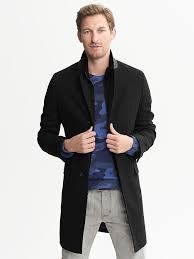 banana republic black friday banana republic wool double layer coat black his closet