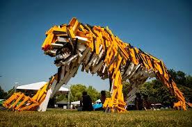 simply creative wooden slat animal sculptures by gábor miklós szőke