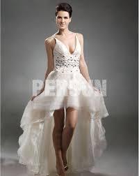robe mari e courte devant longue derriere robe de coctail court devant longue derrière ornée des bijoux