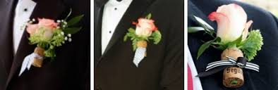 Wedding Boutonnieres Unique Boutonniere Ideas For Your Wedding