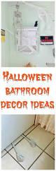 Halloween Bathroom Decor Halloween Bathroom Decor Crafty Little Gnome