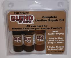 Leather Sofa Repair Tear by Leather Furniture Color Repair Kit Roselawnlutheran