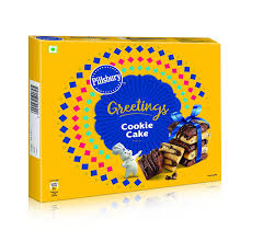 pillsbury cookie cake greeting pack 276g 12 single packs inside