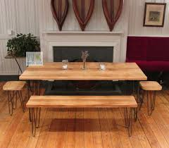 retro old wrought iron dining table dinette combination of solid