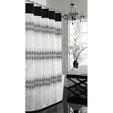 Bath And Beyond Shower Curtains Giselle 72 Inch X 72 Inch Fabric Shower Curtain Bed Bath U0026 Beyond