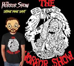halloween horror nights shirts the horror show a horror movie podcast making horror a threat again