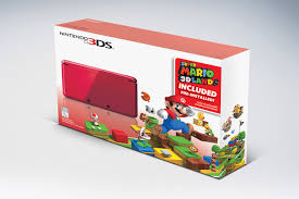 3ds black friday get super mario 3d land pre installed on flame red 3ds for 169 99