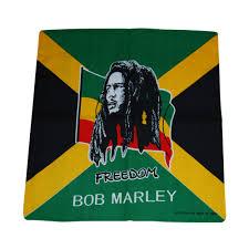 Pot Flag Weed Leaf Bandana Mary Jane Pot Leafs Fredom Bob Marley Jamaica