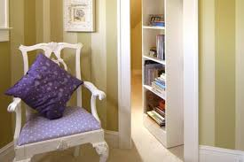 interior breathtaking white secret folding door bookcase for