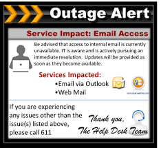 Outage Notification Template email outage communication email outage notification solutions