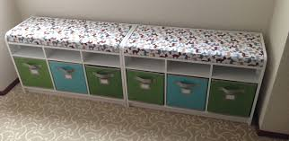 Indoor Bench Seat With Storage by Play Room Bench Cushion Grey Bench Pad White Storage Bench Wall