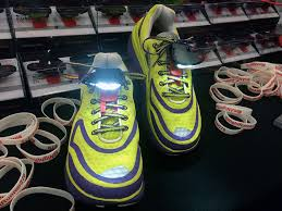 night runner shoe lights photos what caught our eye at the running event trade show