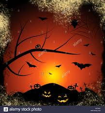 halloween bats halloween background meaning trick or treat and fruit bat stock