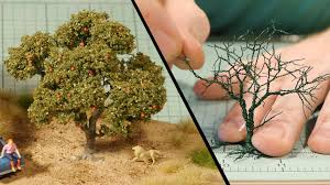 wire tree tutorial u2013 model railroad youtube