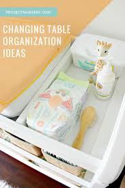 Organization Tips For Work Best 20 Changing Table Organization Ideas On Pinterest Nursery