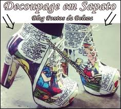 decoupage blog tutorial beauty points decoupage tutorial on shoes