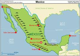 map of mixico resource map of mexico major tourist attractions maps