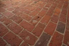 how to lay brick flooring for home interior home guides sf gate