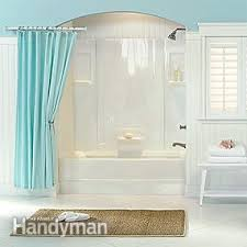bathtub with shower surround how to buy a new bathtub and surround the family handyman