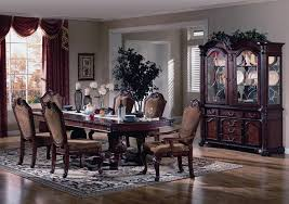 orleans formal dining room set in antique white wash with formal