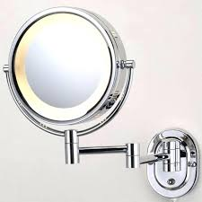 wall mounted makeup mirror with lighted battery wall mounted makeup mirror lighted lights appealing led lighted