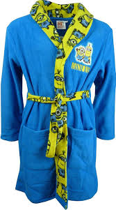 boys dressing gown bathrobe marvel spiderman minions gormiti ebay