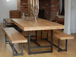 Dining Table With Bench Seats Marvelous Dining Table With Bench