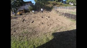 leveling my backyard for a shed youtube
