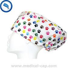 surgical caps veterinary dog claw women medical cap com