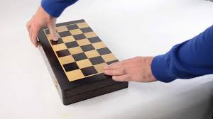 Diy Chess Set by Traditional Folding Chess Sets Youtube