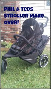 Simply Spray Upholstery Paint Walmart Stroller Makeover Dyeing My Faded Phil U0026teds Double Stroller Youtube