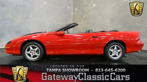 1996 chevrolet camaro ss convertible youtube
