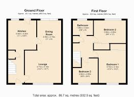 Althorp House Floor Plan by 3 Bed End Terrace House For Sale In Arnull Crescent Headlands