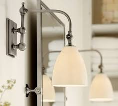 pottery barn lighting sconces covington articulating single sconce pottery barn