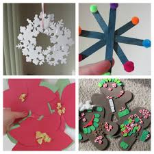 christmas children craft part 22 easy christmas ornaments for