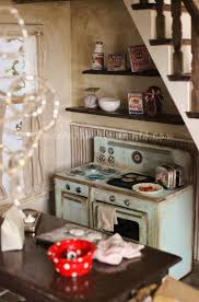 468 best miniature kitchens images on pinterest dollhouses