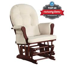 Rocking Chair Glider For Nursery by Dorel Living Baby Relax Glider Rocker Cherry