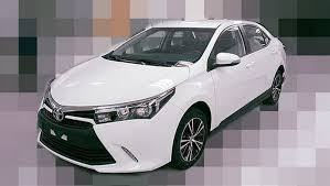 toyota new model car facelifted 2016 toyota corolla altis sedan scooped