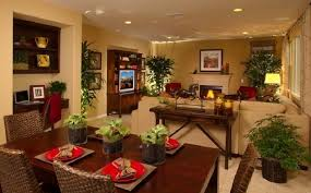 Layout Idea To Separate Living Room  Dining Room Combo Space - Living room dining room design