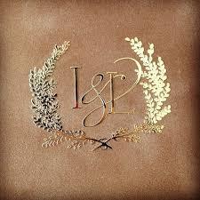 gold monogram wedding monograms 101 erin padgett