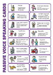 set 5 passive voice tenses adverbs of frequency irregular