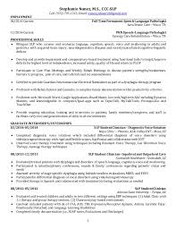 Massage Therapy Resume Samples by Assistant Speech Therapist Cover Letter