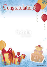 congratulation poster certificate congratulation poster for kids stock image and