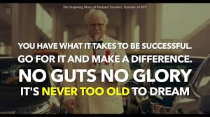 Colonel Sanders Memes - kfc colonel sanders life story you re never to old to succeed
