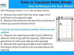 Blinds Outside Of Window Frame How To Measure Blinds